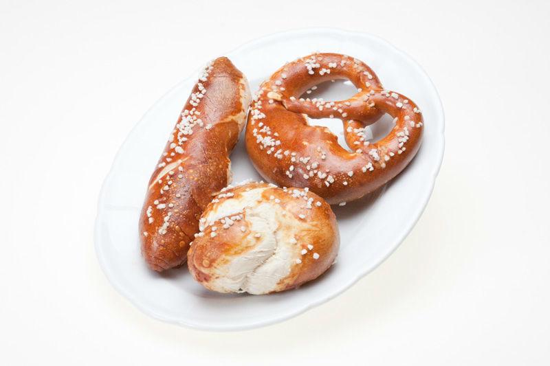 Beispiel: Laugenbrot und Bretzel, Foto: Lunchbox Catering & Event.