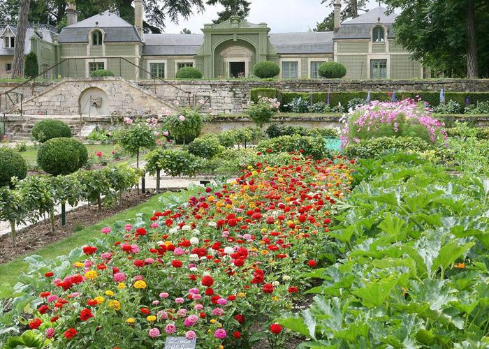 Le Potager des Princes, les jardins
