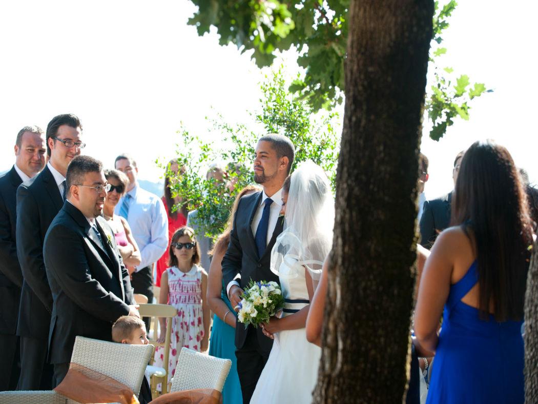 La Locanda del Pontefice allestimento in giardino per rito civile
