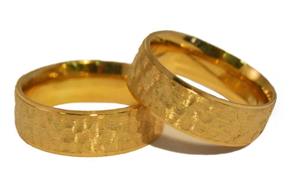 Alianças Casamento Ouro Amarelo ALC72