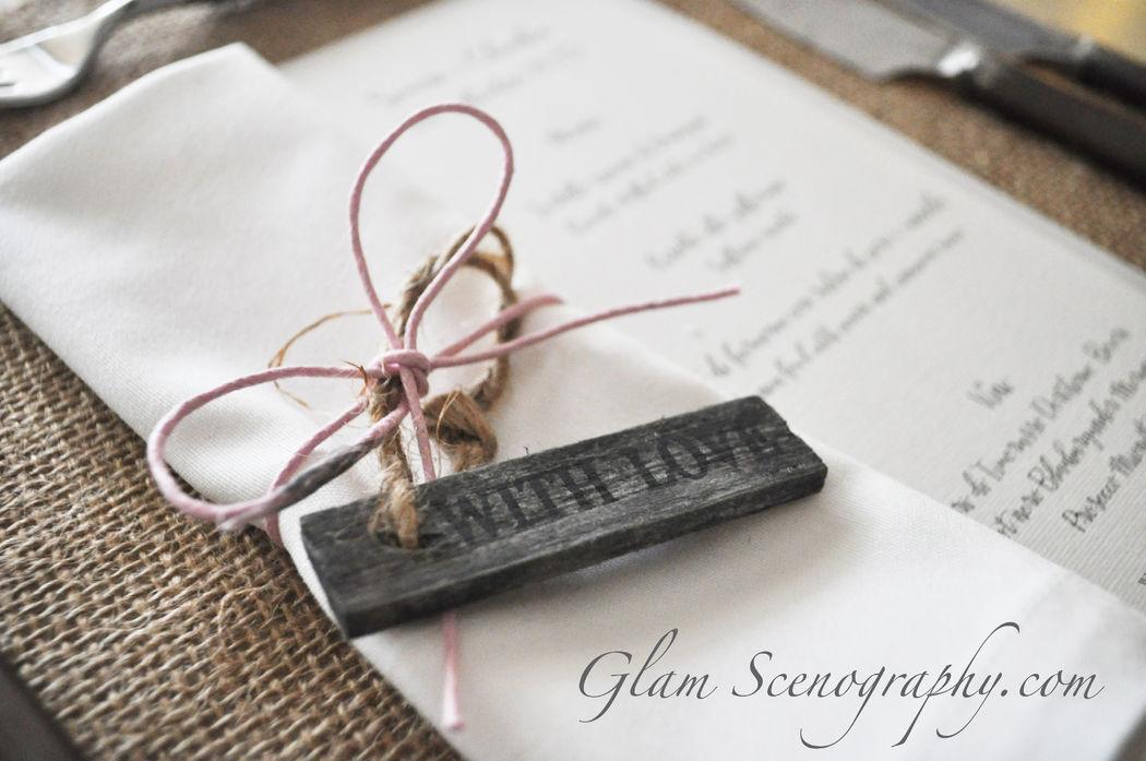 Menù. Glam Scenography