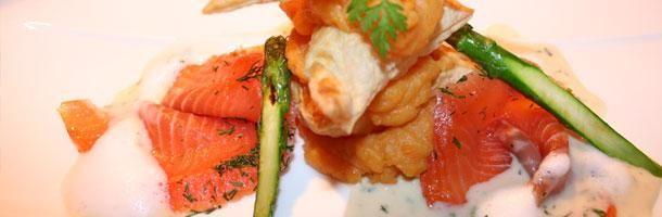 Beispiel: Schmackhafte Gerichte, Foto: Seepferdchen's Catering.