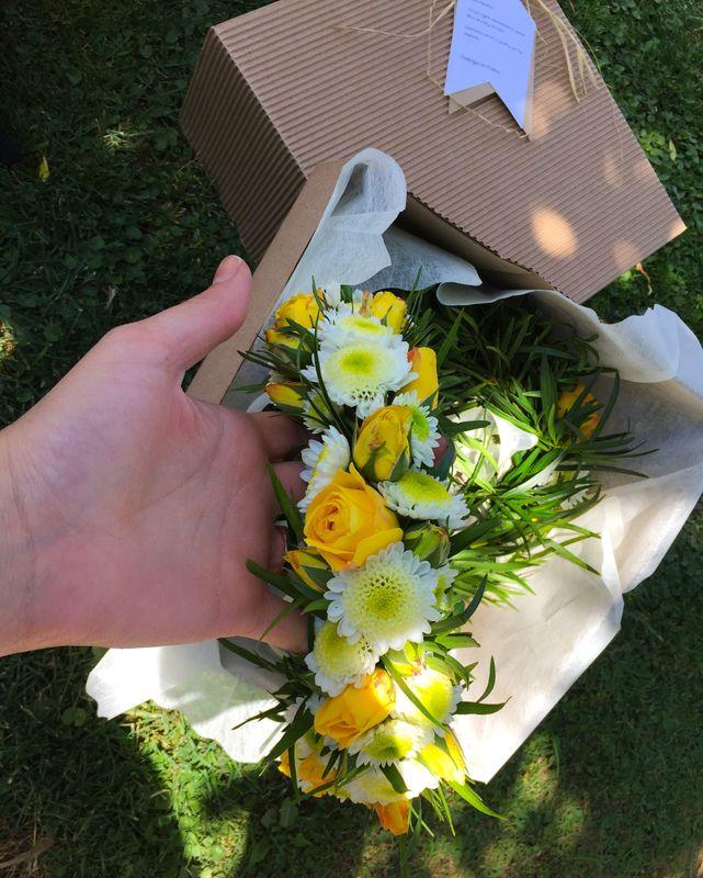 Coronas de flores naturales