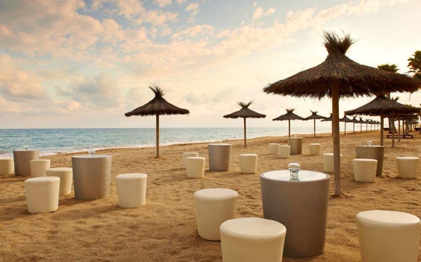 Atardecer del Beach Club
