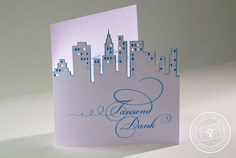 Beispiel: Wunderschöne Einladungskarten, Foto: Die exklusiven Einladungskarten.