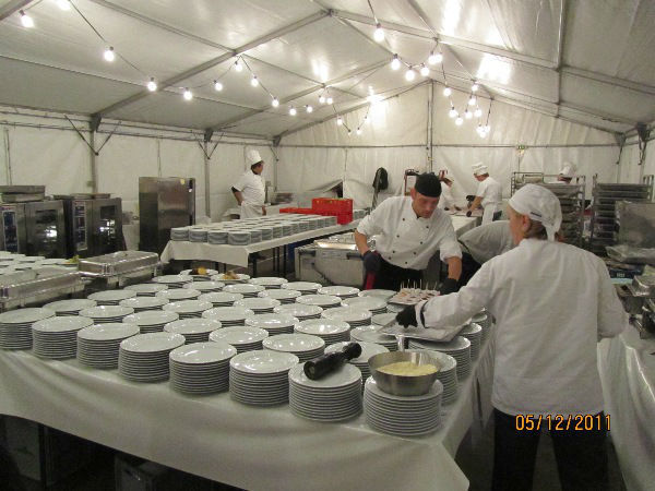 Beispiel: Ihr Catering-Service, Foto: Skyline Catering & Event's.
