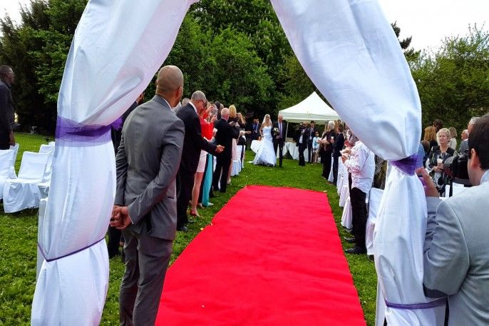 cérémonie extérieure
