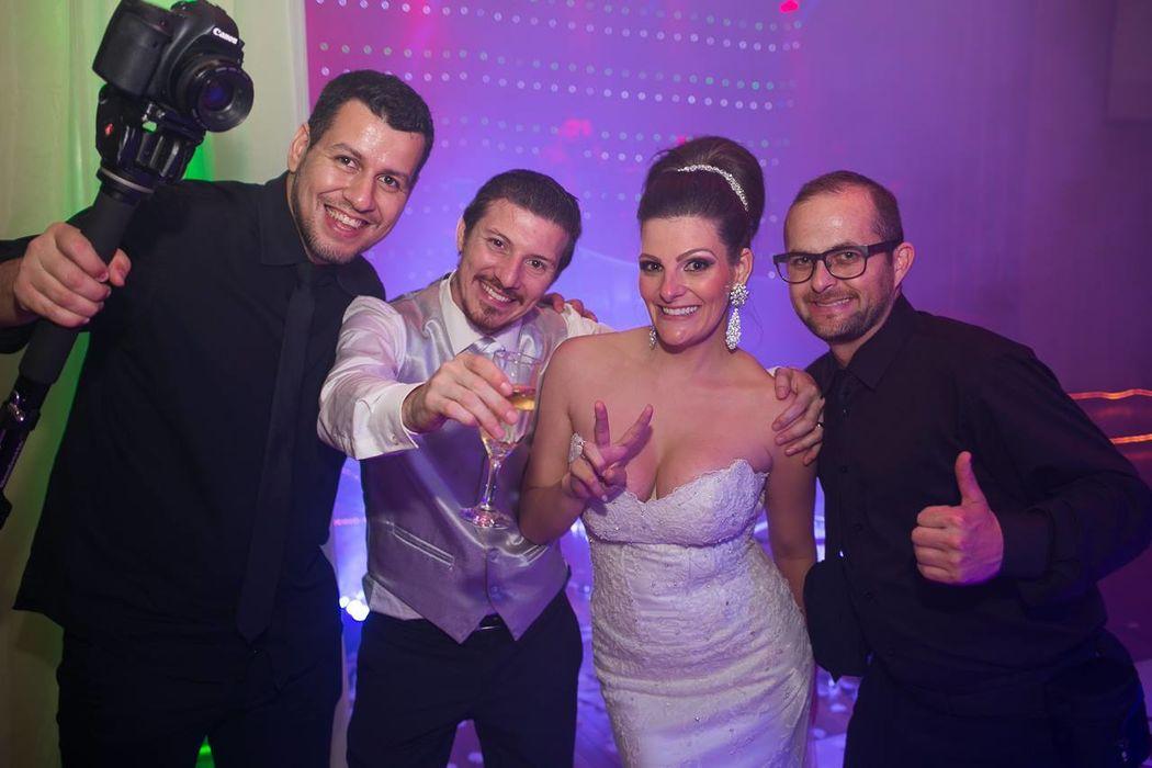 Casamento Pablo e Carla - Clube Comercial - Passo  Fundo RS