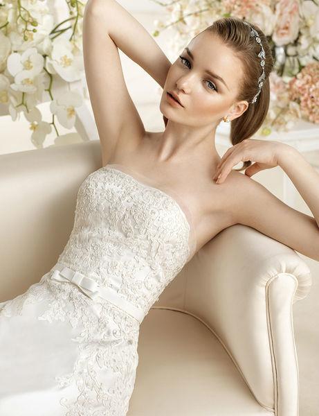 Beispiel: Brautkleider mit Stil, Foto: Pichler Wagensonner.