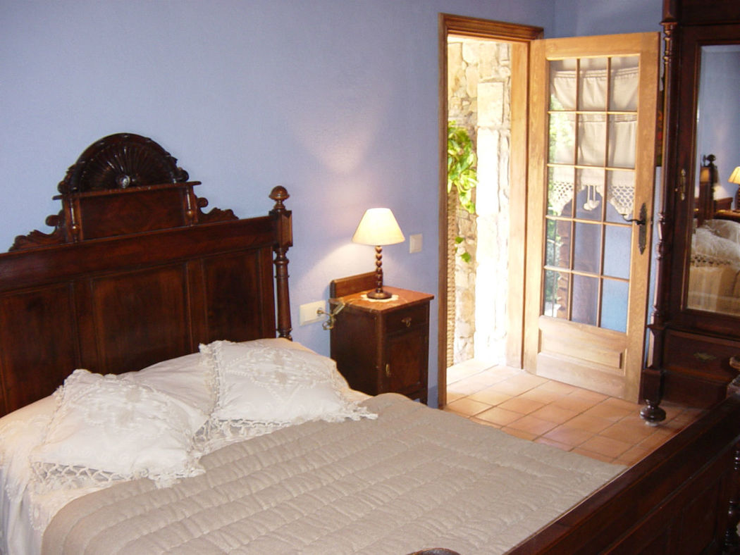 Dormitorio principal casa Romani