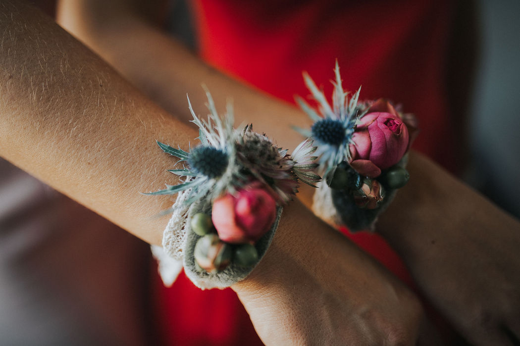 Bracelets de demoiselle d'honneur