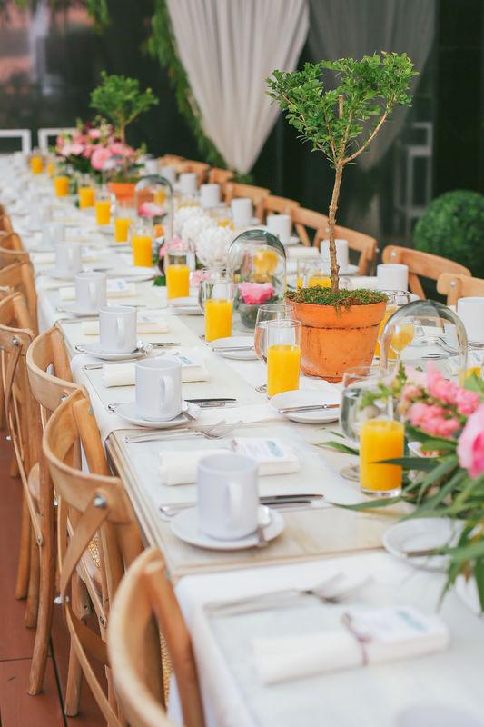 Desayuno Wedding Club para Zankyou Fotografía: Photomachine Studio Decoración: Passione Wedding and Event Planning
