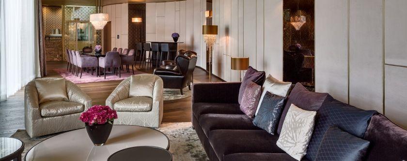 Beispiel: Terrazza Suite, Foto: The Dolder Grand.