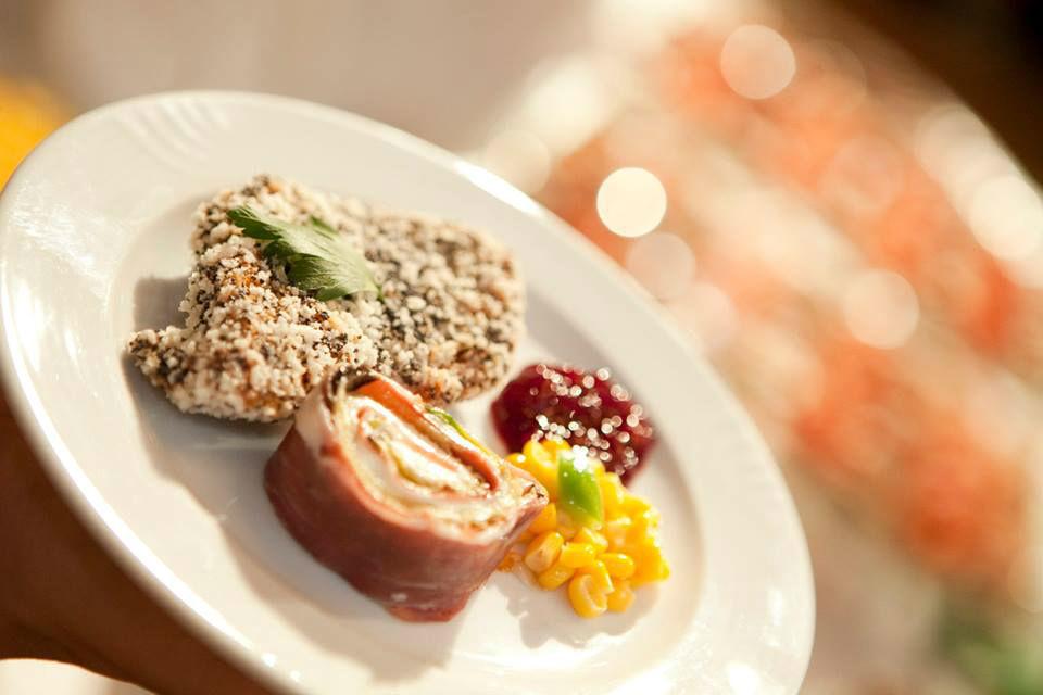 Beispiel: Leckere Hochzeitsmenüs, Foto: Fest & Gast Catering.