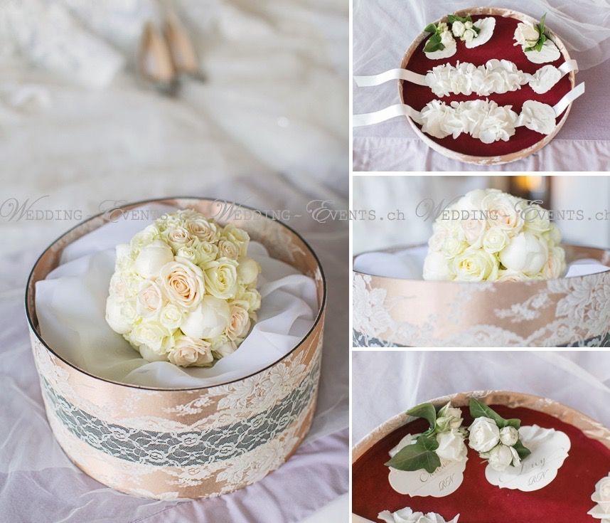 Wunderschöner Brautstrauss für eine wunderschöne Braut www.wedding-events.ch