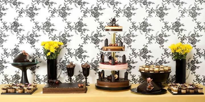 Buffet de desserts Chocolats - Pâtisserie La Romainville