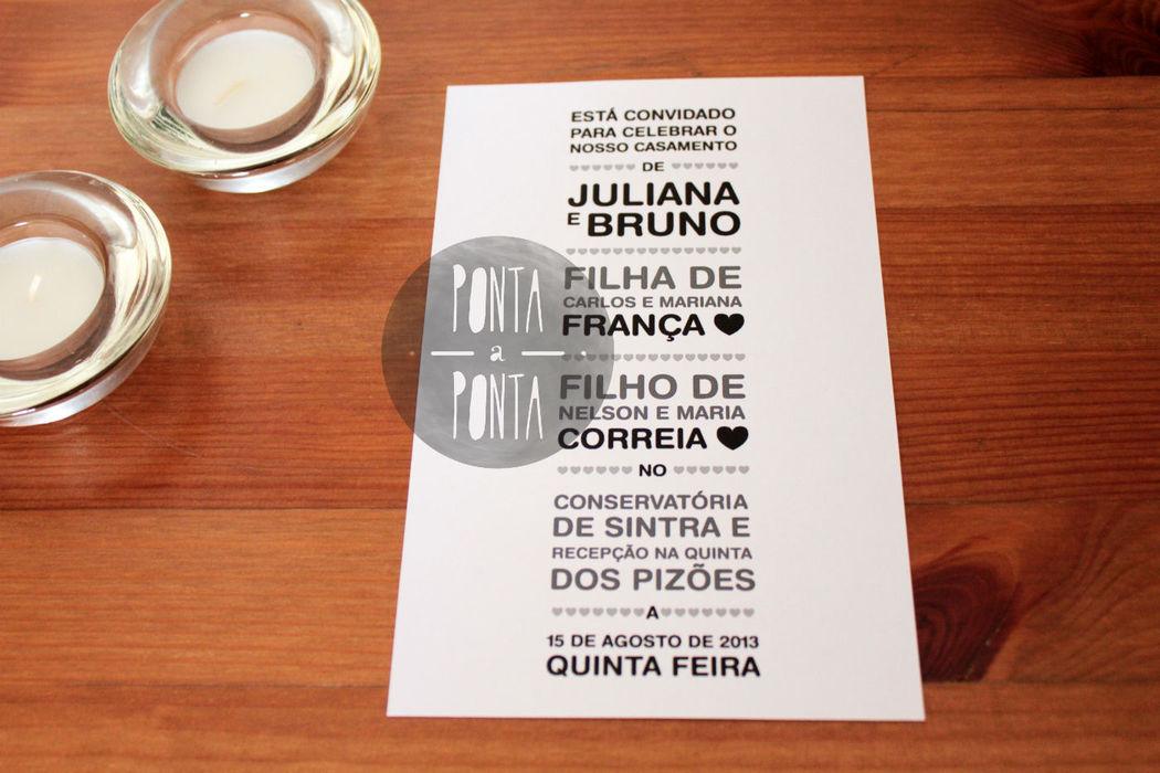 Convite J&B (1/2)   1 lado   rectangular