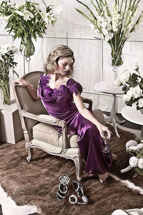 Beispiel: Festmode in allen Größen, Foto: Ella Deck Couture Abendmode.
