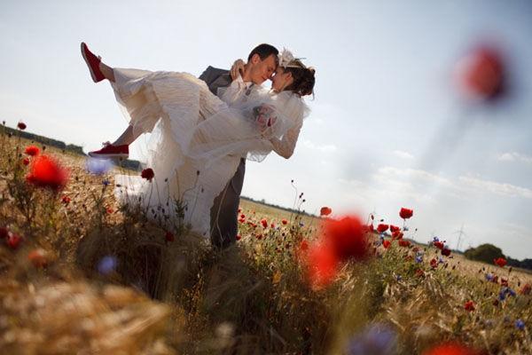 Beispiel: Brautpaar, Foto: Friederike Fiebelkorn.