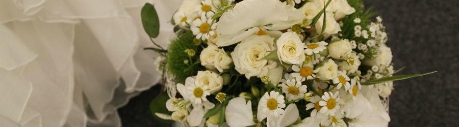 Beispiel: Wunderschöne Kreationen, Foto: Blumen Stieber.