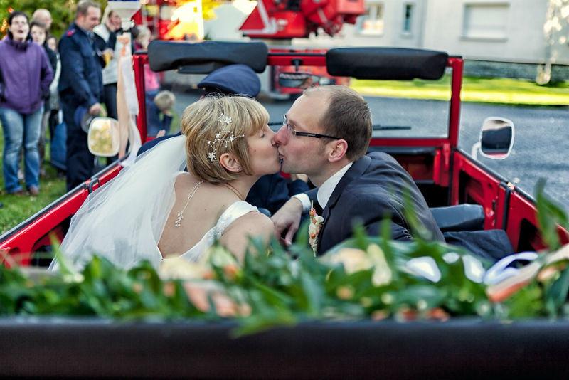 Beispiel: Romantische Fotos von Ihrer Hochzeit, Foto: Vision2Pixel.