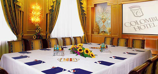 Beispiel: Salon Guildford, Foto: Colombi Hotel.
