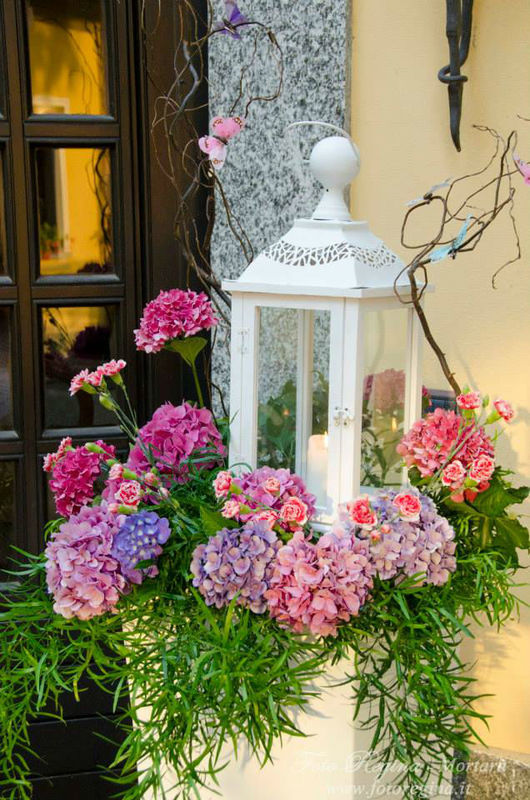 Allestimento floreale villa Sant'Espedito