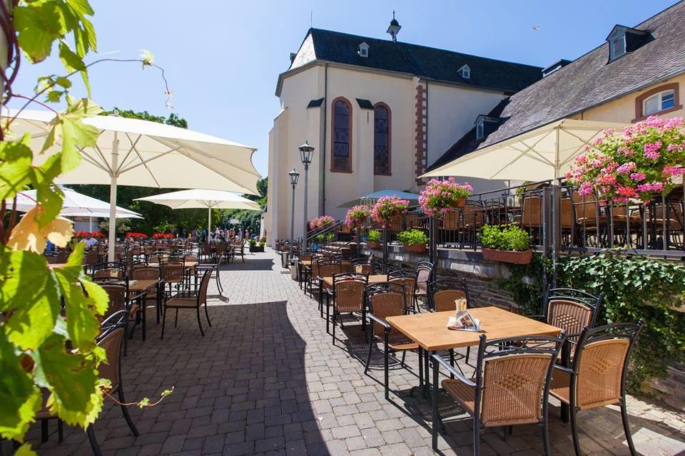 Beispiel: Terrasse, Foto: Kloster Machern Bernkastel- Wehlen.