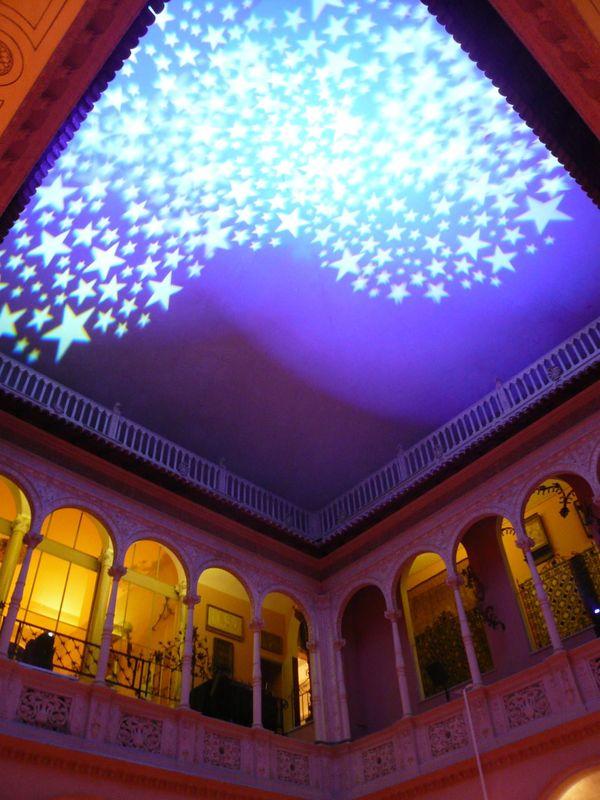 Villa Ephrussi de Rothschild, décoration patio intérieur