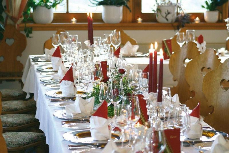 Beispiel: Hochzeitstafel, Foto: Gipfelhaus Magdalensberg.