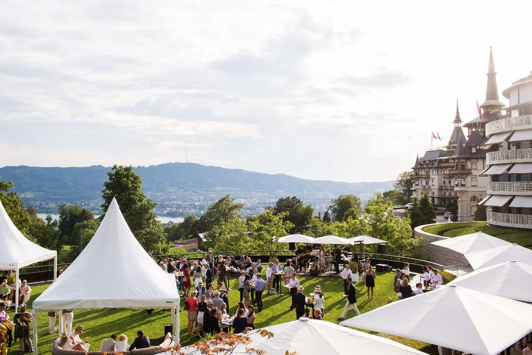 Beispiel: Event im Außenbereich, Foto: The Dolder Grand.