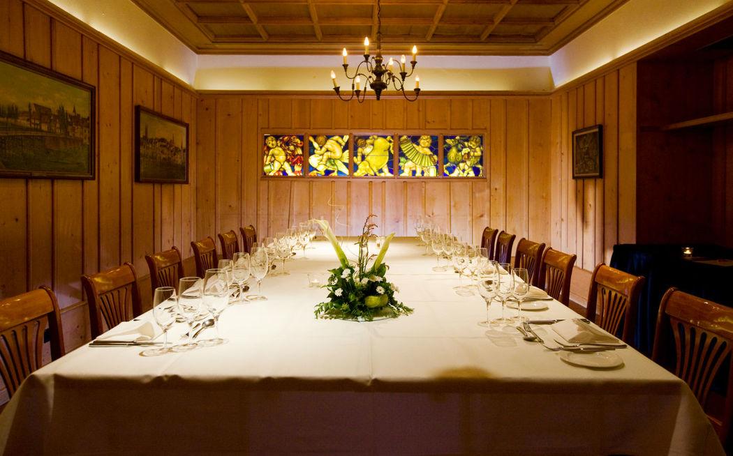 Beispiel: Hochzeitstafel, Foto: Hotel Basel.
