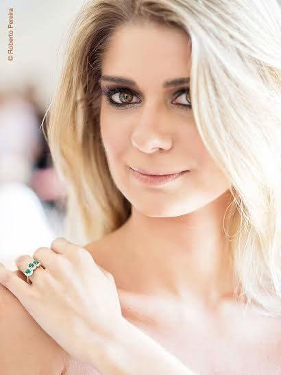 anel em ouro branco e diamantes!