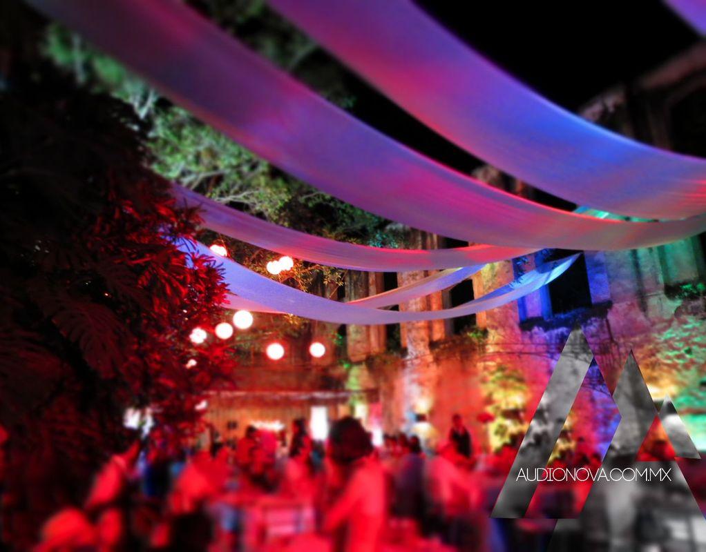 Iluminación Ambiental Hacienda Vista Hermosa