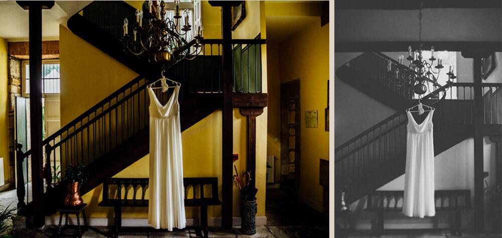 Entrada Hotel Casona El Arral . Lierganes. Cantabria.