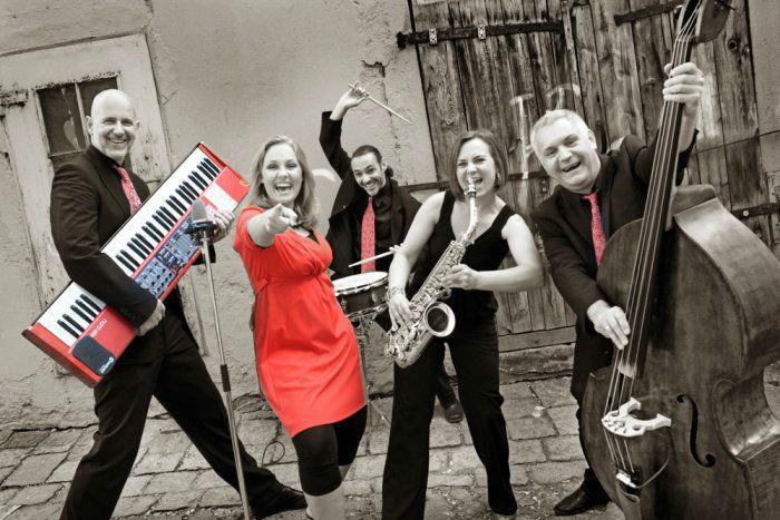 Beispiel: Band-Besetzung, Foto: Voice and Music.