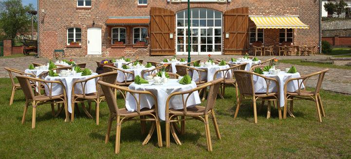 Beispiel: Garten, Foto: Landhof Liepe.