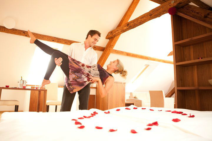 Beispiel: Hotelzimmer, Foto: Das Eisenberg.