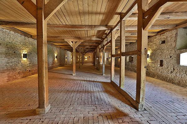 Beispiel: Rokkenscheune, Foto: Wasserschloss Hülsede.