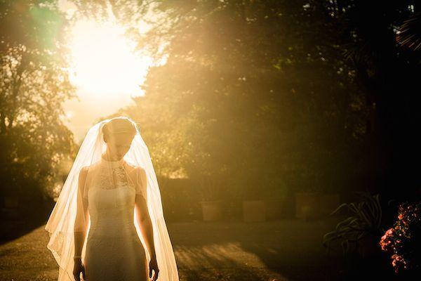 Hochzeitsfotografie natürliches Abendlicht