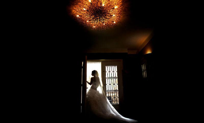 Beispiel: Portrait der Braut, Foto: raman weddings.