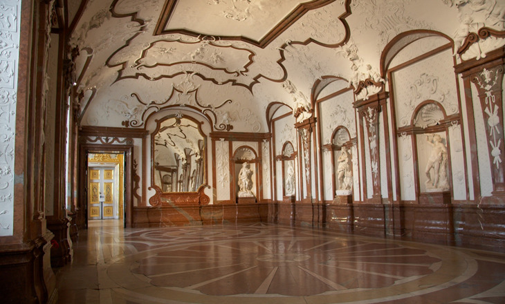 Beispiel: Räumlichkeiten, Foto: Festung Hohensalzburg.