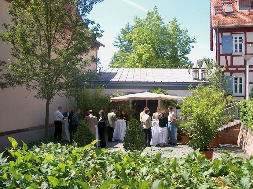 Beispiel: Feiern in der Nikolauskapelle - Empfang, Foto: Die Nikolauskapelle.
