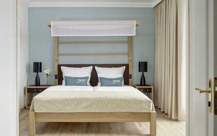 Beispiel: Hotelzimmer, Foto: Steigenberger Inselhotel Konstanz.