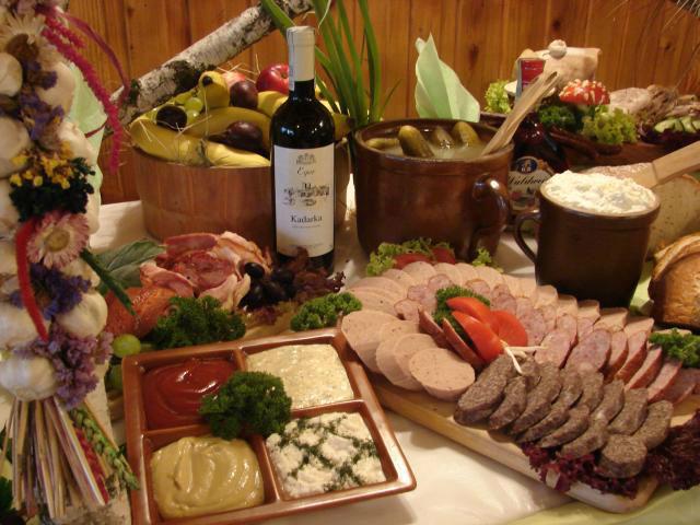 Stół wiejski