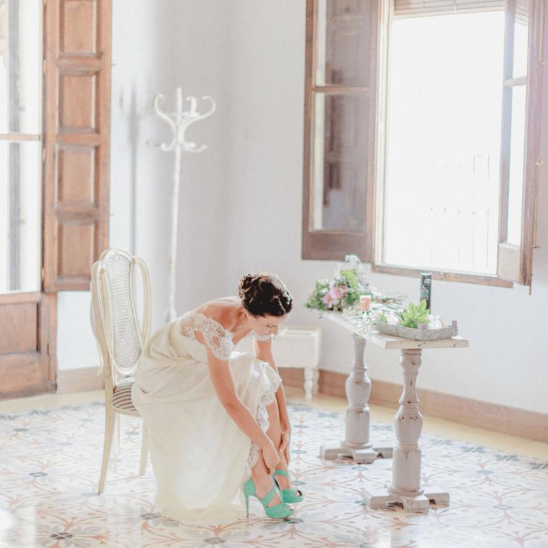 Doriani editorial de boda © Bina Terre