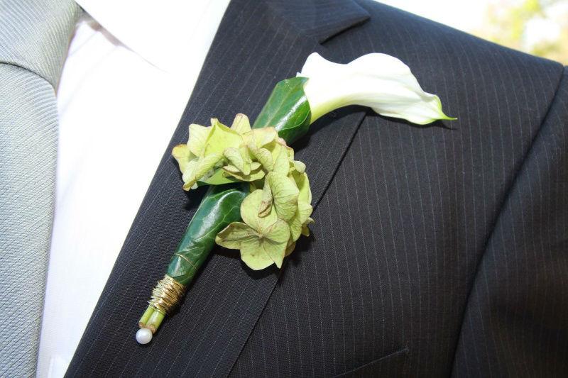 Beispiel: Blumenschmuck, Foto: Bellas Hochzeitsservice.