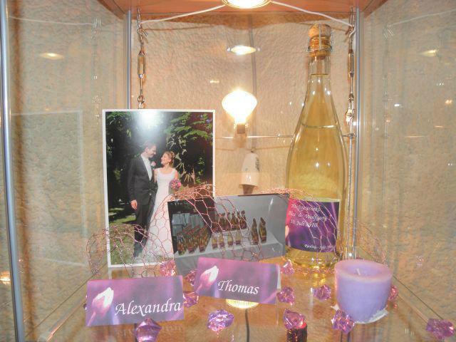 Beispiel: Hochzeitssekt, Foto: Hochzeitswein - Weingut Zickl.
