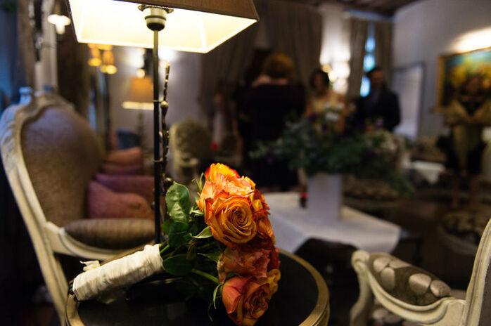 Cocktail mariage au café Laurent, Paris.