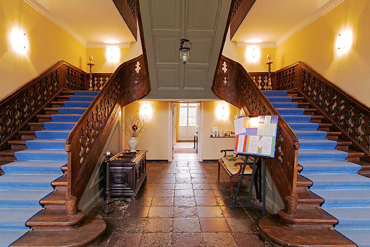 Beispiel: Foyer, Foto: Schloss Ziethen.